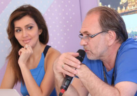 Алексей Гуськов с Екатериной Мцитуридзе