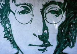 Нарисованный портрет Джона Леннона