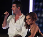Саймон Коуэлл (Simon Cowell) и Шерил Коул (Cheryl Cole) / © Allie Martin / flickr