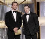 Крис Хемсворт (Chris Hemsworth) и Крис Эванс (Chris Evans) / © Paul Drinkwater / NBC via Getty Images