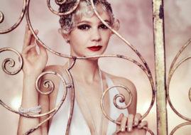 Кэри Маллиган (Carey Mulligan) на съемках для журнала Vogue / © Elliot James / flickr