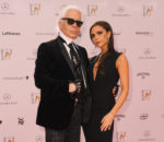 Карл Лагерфельд (Karl Lagerfeld) и Виктория Бекхэм (Victoria Beckham) / © Hubert Burda Media: Bambi 2013, 14.11.2013, Berlin.