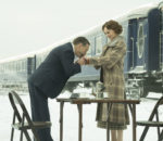 Кеннет Брана (Kenneth Branagh) и Дэйзи Ридли (Daisy Ridley) на съемках фильма «Убийство в восточном экспрессе» (Murder on the Orient Express) / © Bluedreamer2011 / flickr