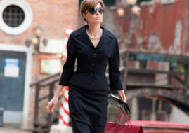 Анджелина Джоли (Angelina Jolie) на съемках фильма «Турист» (Tourist) / © Brenda Rochelle / flickr