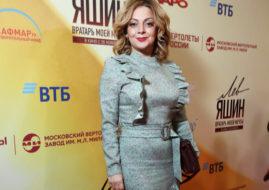 Анетта Орлова на премьере фильма «Лев Яшин. Вратарь моей мечты» / © Пресс-служба проекта