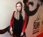 Марина Ермошкина на премьере фильма «Лев Яшин. Вратарь моей мечты» / © Пресс-служба проекта