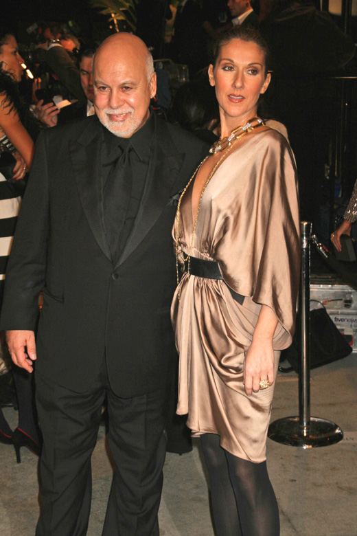 Певица Селин Дион (Celine Dion) с мужем / s_bukley / Shutterstock.com
