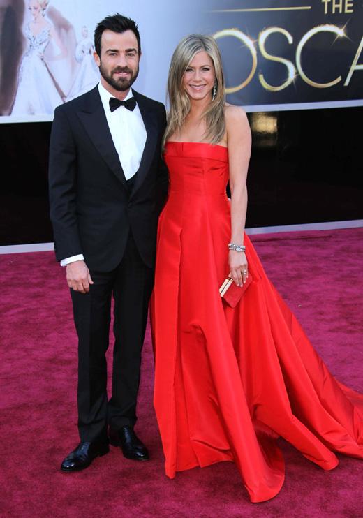Джастина Теру (Justin Theroux) и Дженнифер Энистон (Jennifer Aniston) / © s_bukley / Shutterstock.com