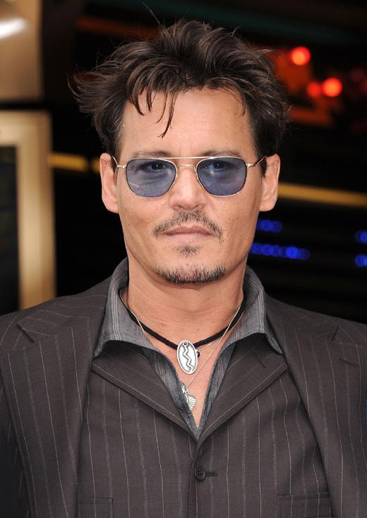 Джонни Депп (Johnny Depp) / DFree / Shutterstock.com