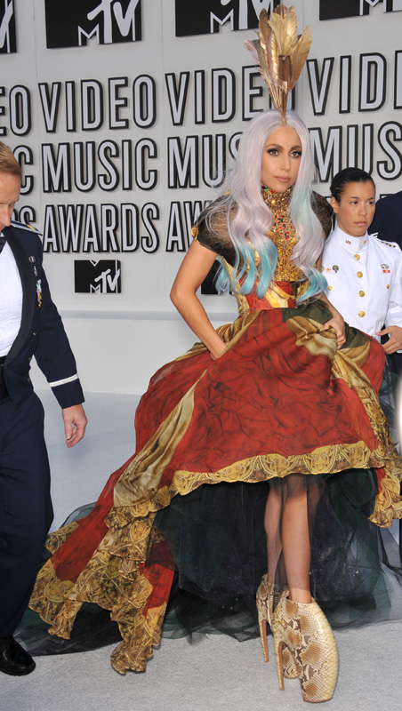 Певица Леди Гага (Lady Gaga) / Jaguar PS / Shutterstock.com