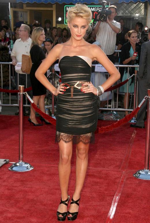 Актриса Эмбер Херд (Amber Heard) / © s_bukley / Shutterstock.com