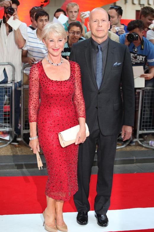 Брюс Уиллис (Bruce Willis) и Хелен Миррен (Helen Mirren) / © Featureflash / Shutterstock.com