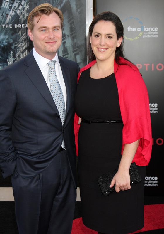 Режиссер Кристофер Нолан (Christopher Nolan) с супругой / Helga Esteb / Shutterstock.com