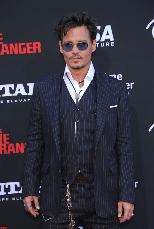 Джонни Деппом (Johnny Depp) / © DFree / Shutterstock.com