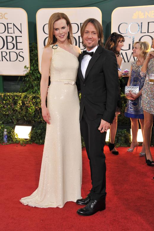 Кит Урбан (Keith Urban) с женой Николь Кидман (Nicole Kidman) / © Featureflash / Shutterstock.com