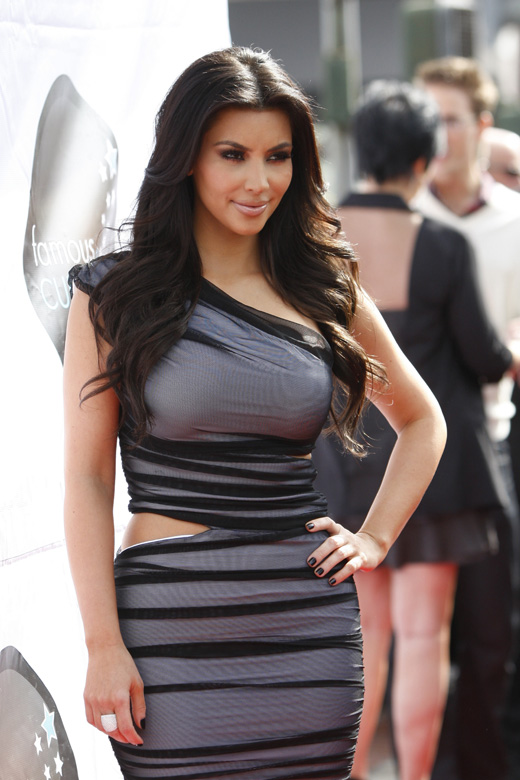Телеведущая Ким Кардашян (Kim Kardashian) / carrie-nelson / Shutterstock.com