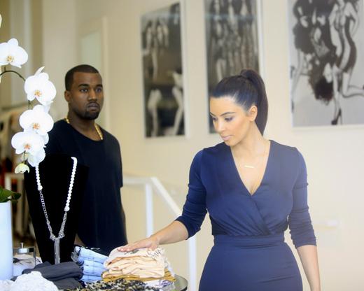 Канье Уэст (Kanye West) и Ким Кардашян (Kim Kardashian) / Joe Seer / Shutterstock.com