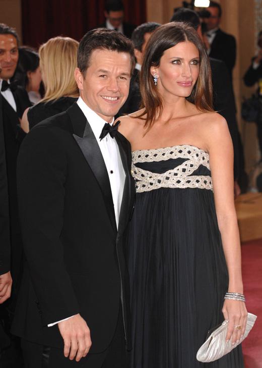 Актер Марк Уолберг (Mark Wahlberg) и его жена, модель Риа Дюрэм (Rhea Durham) / Featureflash / Shutterstock.com