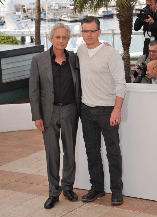 Майкл Даглас (Michael Douglas) и Мэтт Дэймон (Matt Damon) / Featureflash / Shutterstock.com