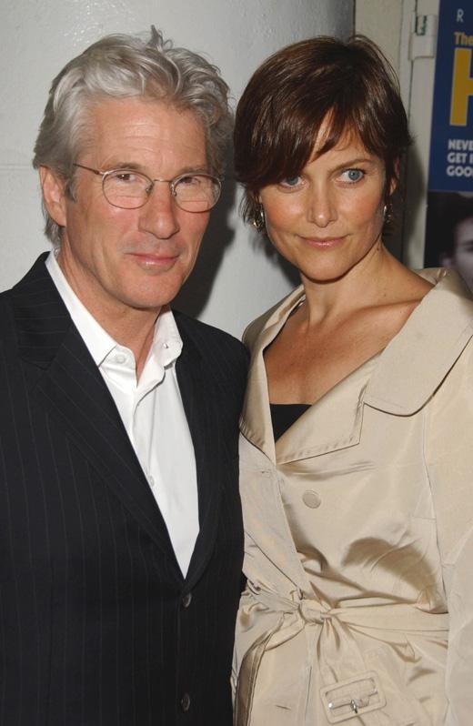 Ричард Гир (Richard Gere) с женой Кери Лоуэлл (Carey Lowell) / s_bukley / Shutterstock.com
