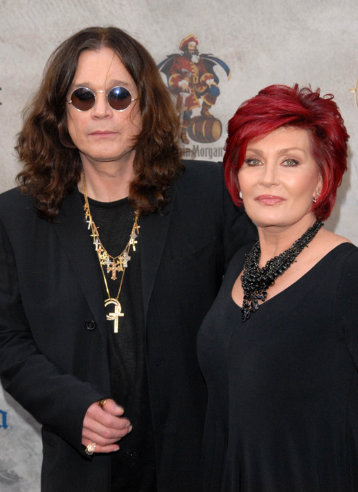Рокер Оззи Осборн (Ozzy Osbourne) и его жена Шэрон Осборн (Sharon Osbourne) / © s_bukley / Shutterstock.com