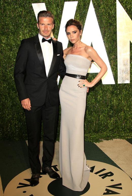 Дэвид Бекхэм (David Beckham) и Виктория Бекхэм (Victoria Beckham) / Joe Seer / Shutterstock.com