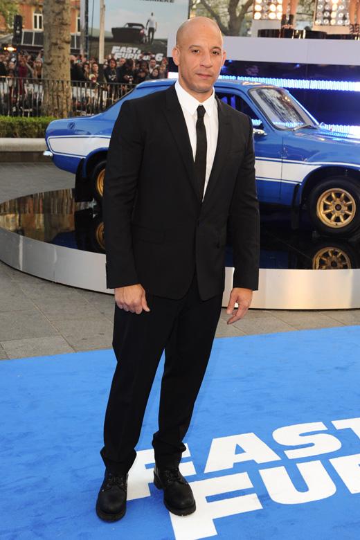 Актер Вин Дизель (Vin Diesel) / Featureflash / Shutterstock.com