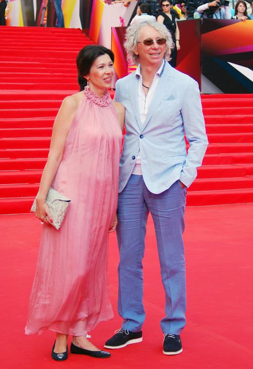 Аркадий Укупник с женой Натальей / Ekaterina Bykova / Shutterstock.com