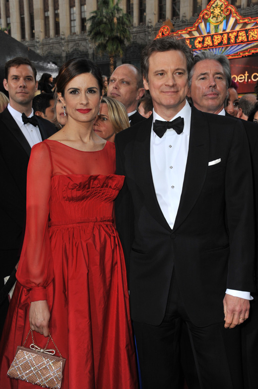Актер Колин Ферт (Colin Firth) с женой Ливией Джуджолли (Livia Giuggioli) / Featureflash / Shutterstock.com