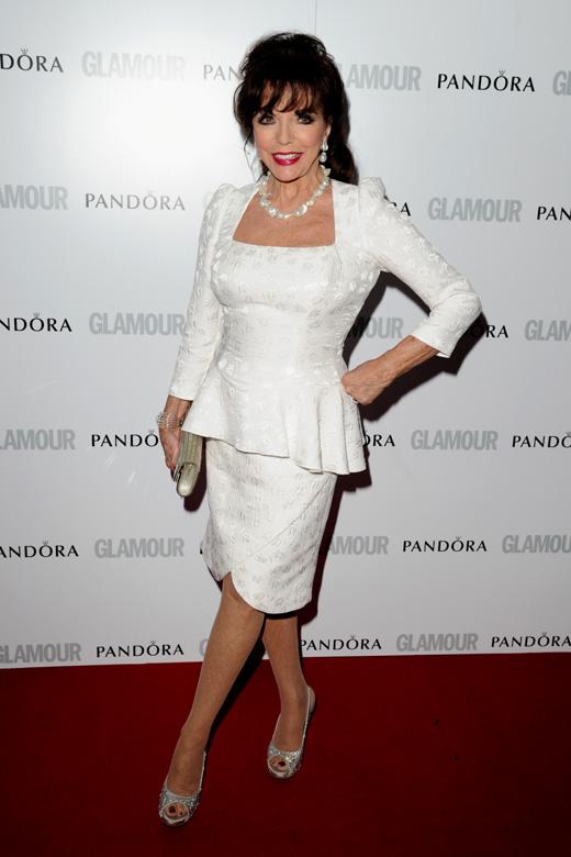 Джоан Коллинз (Joan Collins) / Featureflash / Shutterstock.com