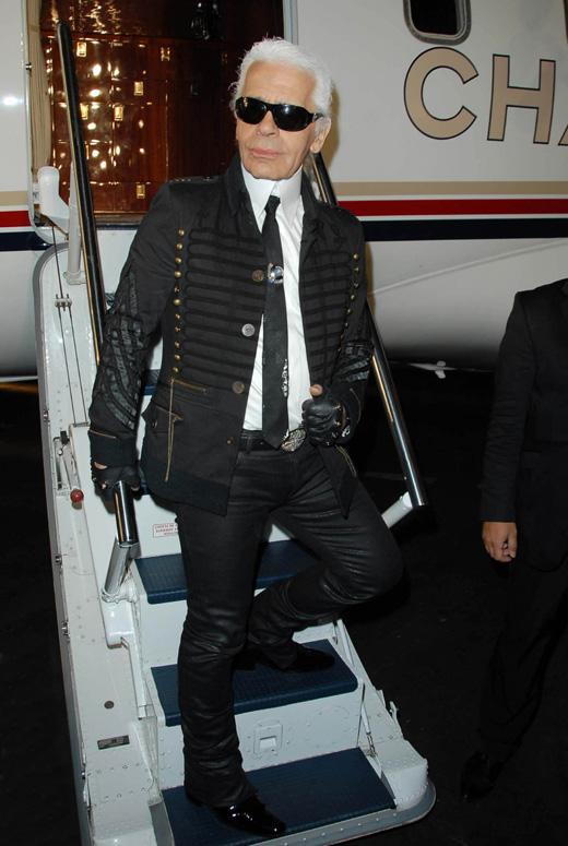 Модельер Карл Лагерфельд (Karl Lagerfeld) / s_bukley / Shutterstock.com