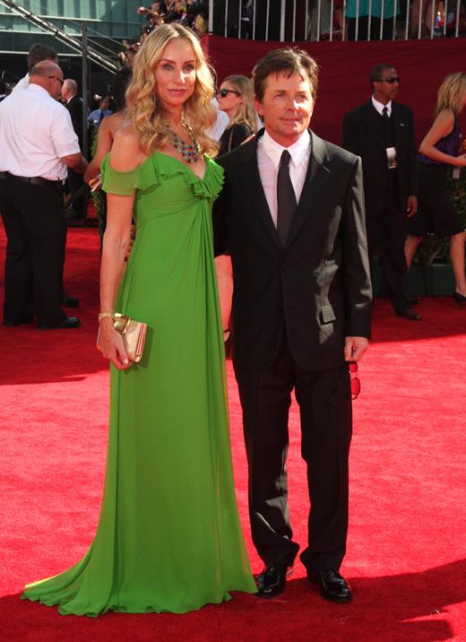 Актер Майкл Дж. Фокс (Michael J. Fox) с женой Трэйси Поллан (Tracy Pollan) / s_bukley / Shutterstock.com