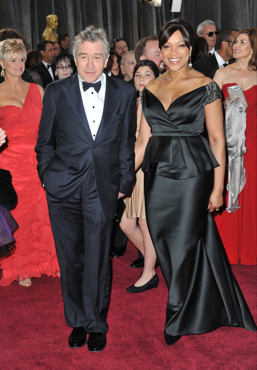 Роберт Де Ниро (Robert De Niro) с женой Грейс Хайтауэр (Grace Hightower) / Featureflash / Shutterstock.com