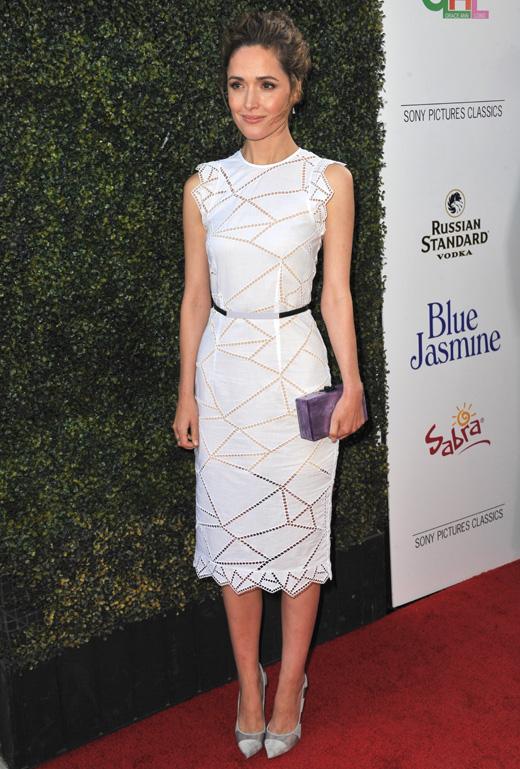 Актриса Роуз Бирн (Rose Byrne) / Jaguar PS / Shutterstock.com