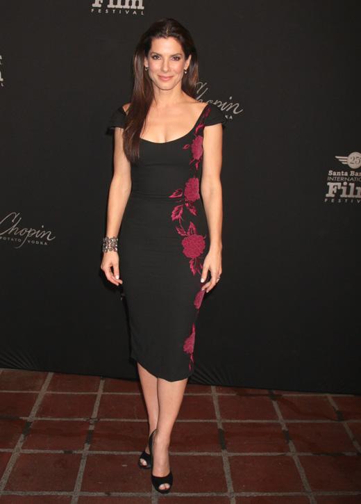 Сандрой Буллок (Sandra Bullock) / carrie-nelson / Shutterstock.com