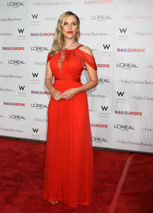 Актриса Скарлетт Йоханссон (Scarlett Johansson) / carrie-nelson / Shutterstock.com
