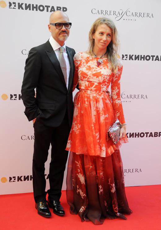 Режиссер Федор Бондарчук с женой Светланой Бондарчук / Martynova Anna / Shutterstock.com