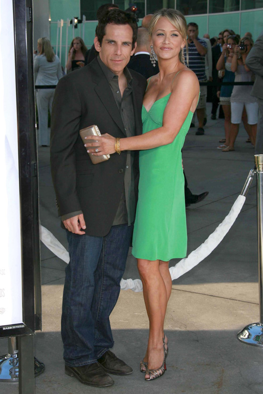Бен Стиллер (Ben Stiller) и Кристин Тейлор (Christine Taylor) / © s_bukley / Shutterstock.com