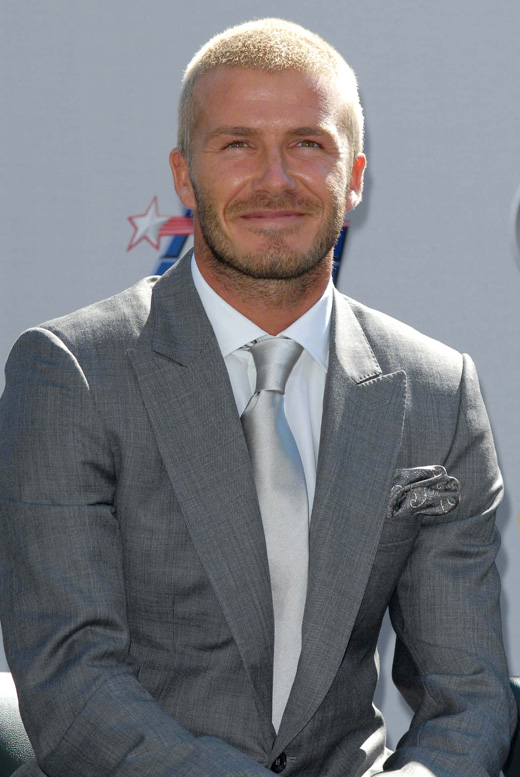 Футболист Дэвид Бекхэм (David Beckham) / © Depositphotos.com / Ryan Born