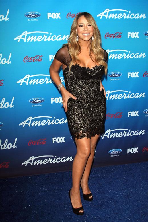 Певица Мэрайя Кэри (Mariah Carey) / s_bukley / Shutterstock.com