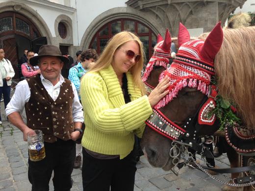Певица Варвара на фестивале «Октоберфест» (Octoberfest) / Пресс-служба певицы