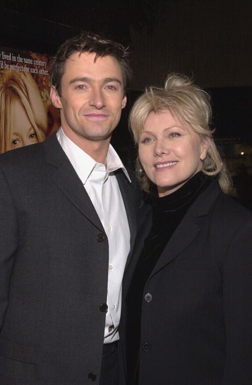 Актер Хью Джекман (Hugh Jackman) и его жена Деборра Ли-Фернесс (Deborra-Lee Furness) / © Depositphotos.com / Ryan Born