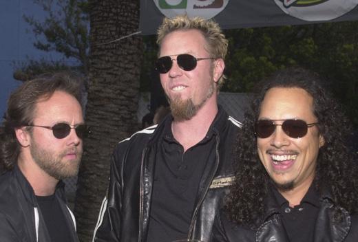 Рок-группа «Металлика» (Metallica) / © Depositphotos.com / Ryan Born