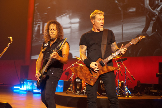 Рок-группа «Металлика» (Metallica) / © Depositphotos.com / Ian Paterson