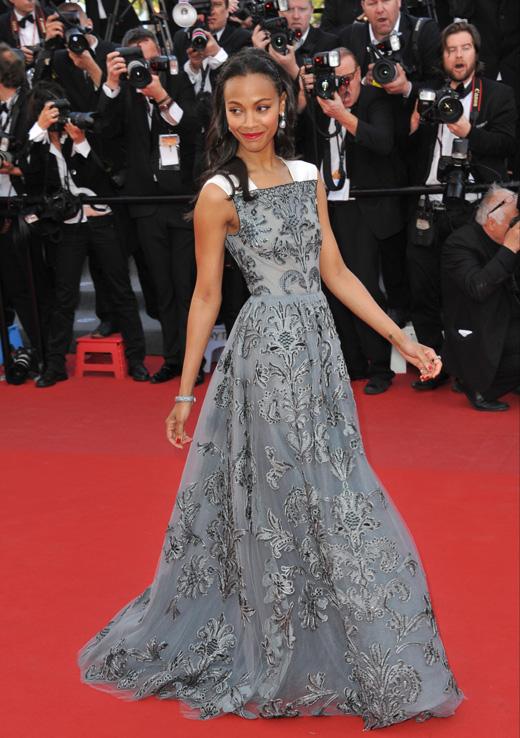 Актриса Зои Салдана (Zoe Saldana) / © Jaguar PS / Shutterstock.com