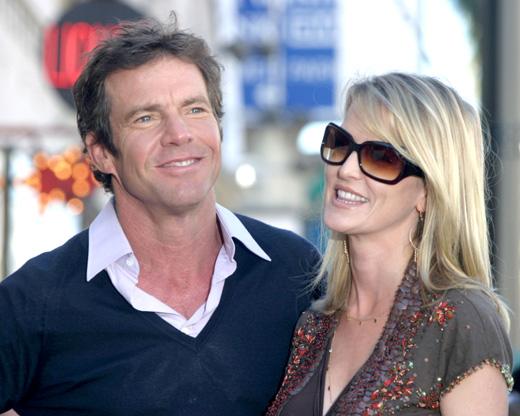 Деннис Куэйд (Dennis Quaid) с бывшей женой Кимберли Куэйд (Kimberly Quaid) / © carrie-nelson / Shutterstock.com