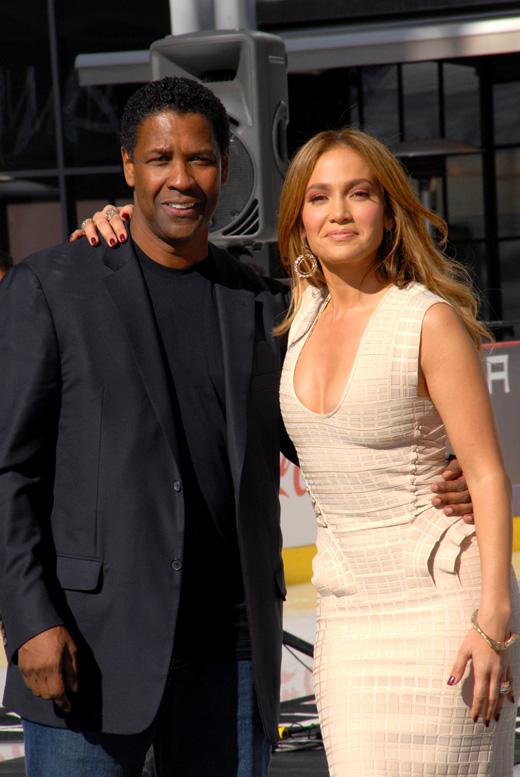 Дензел Вашингтон (Denzel Washington) и Дженнифер Лопес (Jennifer Lopez) / © s_bukley / Shutterstock.com