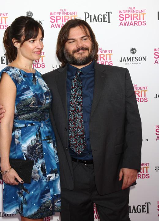Таня Хейден (Tanya Haden) и Джек Блэк (Jack Black) / © Helga Esteb / Shutterstock.com