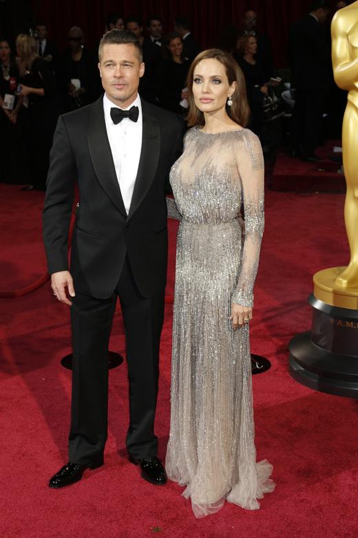 Брэд Питт (Brad Pitt) и Анджелина Джоли (Angelina Jolie) / © Helga Esteb / Shutterstock.com