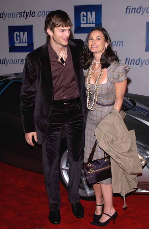 Эштон Кутчер (Ashton Kutcher) и Деми Мур (Demi Moore) / © Featureflash / Shutterstock.com